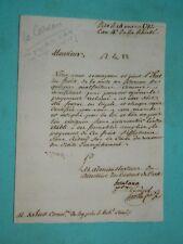 42-REVOLUTION  DAX Landes 1792: mise au CARCAN de malfaiteurs las signée Hontang