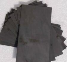 Us Stock 2pcs 340150mm 9999 Pure Graphite Electrode Rectangle Plate Sheet