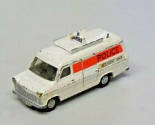 Vintage Dinky Toys Ford Transit Van Police Accident Unit Diecast Made in England