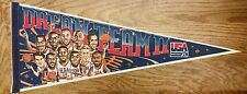 Dream Team II Olympic Basketball Pennant 30' USA Extremely Rare