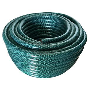 Garden Hose Reel Green Reinforced 3 Ply Watering Hose 30m-100m Reels Made In UK