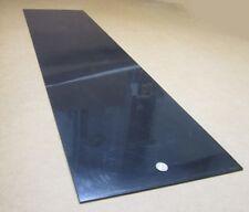 "HDPE (Polyethylene) Sheet Black .125"" (1/8"") Thick x 12"" Wide x 48"" Long, 2 pcs"