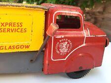 VINTAGE latta giocattolo Louis MARX Servizio stradale BRITANNICA INGHILTERRA Camion