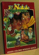 è Natale - leggo coloro ritaglio gioco - crescere edizioni 1998