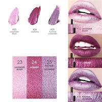 3PCS FOCALLURE Waterproof Metallic Lipstick Lip Gloss Liquid Makeup Lipstick