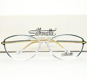 Silhouette Eyeglasses Frame 1912 20 6063 55-13-135 without case  VTG