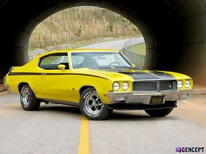 1970-1972 Buick Skylark GSX Showcars Front Spoiler