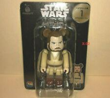 STAR WARS BearBrick QUIGON JINN Kubrick figure Liam Neeson toy MEDICOM Disney