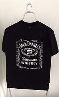 Official JACK DANIELS Big classic logo distressed style T-Shirt