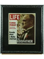 Marlon Brando Framed Signed Life Magazine Cover Lot 231