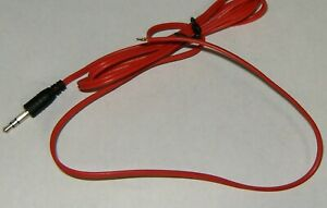 Bachmann Red Power Wire 41 Inches With Stripped End Long HO Scale E-Z Track