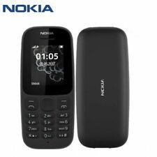 Brand new NOKIA 105 (UNLOCKED) Basic Mobile Phone-BLACK -(SINGLE SIM / DUAL SIM)
