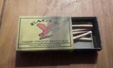 Boîte d allumette  égale damp Prodi matches