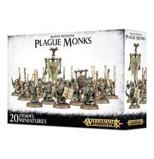 Warhammer Fantasy/Age of Sigmar Skaven Plague Monks NIB