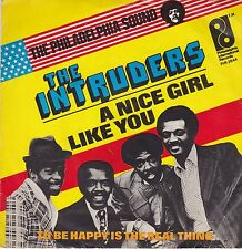 The Intruders-A Nice Girl Like You vinyl single