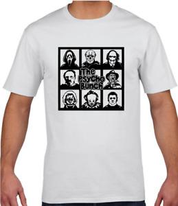 The Psycho Bunch Horror Movie Icons Adults Men Women T-shirt Halloween Adults Te