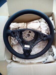 Porsche Cayenne Black Leather Steering Wheel - New