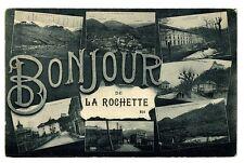 CPA 73 Savoie La Rochette Bonjour de la Rochette