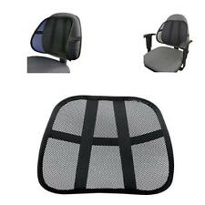 Cool & Breathable Mesh Support - Lumbar Support Cushion Seat Back Muscle Car