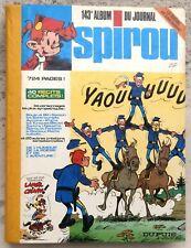Spirou Recueil 143 1976 TTBE Franquin Tuniques bleues Schtroumpfs Boule et Bill