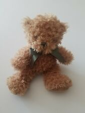 Barnsie Barnes and Noble Brown Fuzzy Stuffed Plush Toy