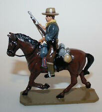 King & Country RR02 Trooper w/ Rifle on Horse Retired Rough Riders 1st Series