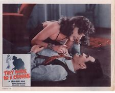 ANN SHERIDAN THE DEAD END KIDS THEY MADE ME A CRIMINAL RE1956 11X14   #1481