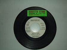 Gene Page / Rosetta Stone – Disco Vinile 45 giri  Ed.Promo Juke Box + Stickers