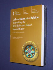 Teaching Co Great Courses DVDs     CULTURAL LITERACY for RELIGION   new & sealed