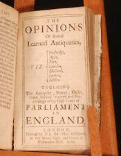 1670-85 PARLIAMENT Proceedings Bills Scobel Doddridge