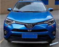 Accessories For Toyota RAV4 2016-2018 Front head Light Lamp Eyebrow Lid Trim Kit