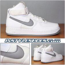 Nike Air Force 1 High 25Th Anniversary Sz 9 DS White Medium Grey 2007 315121-101