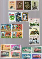 foglietto francobolli corea  8 foglietti vari assortiti - 22 valori