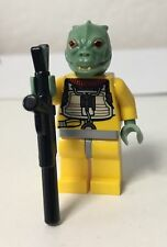 Lego Star Wars Figur (596, 749, A38) Bountyhunter Bossk Waffe 8097 10221 Neuw