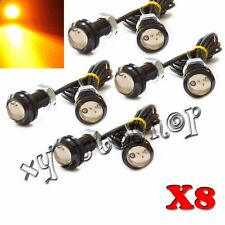 8x USA Ship Bright 1.5W Amber LED Light Fit For Ford SVT Raptor Style Truck SUV