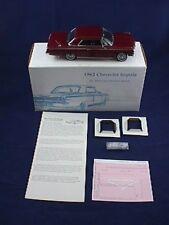 1962 Honduras Maroon impala SS 409 Hardtop by West Coast Precision Diecast WCPD