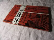 A THEATRE of MACHINES - A G Keller - The Early Mechanical Inventions HB-DJ