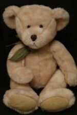 "Russ Teddy Bear Plush~Corky~12"" Seated~Beige~Excellent"