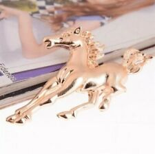 Yellow Gold Plated Enamel Crystal Mixed Animals Shape Pin Brooches