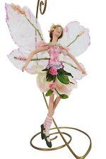 Flower Fairy Enchanted Magical Garden Flower Girl Fairy Hanging Ornament