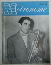 Vintage Metronome Music Magazine August 1949 George Auld