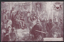 Royalty Postcard-Coronation of King Edgar a.d 973, Bath Historical Pageant DP123