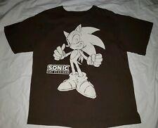 Vintage Sonic the Hedgehog Tee T Shirt Top Heavy Boys XL X Large Sega Video Game