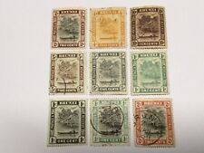 old stamps BRUNEI   x  9