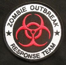 ZOMBIE HUNTER OUTBREAK RESPONSE TEAM ARMY COMBAT ORIGINAL VELCRO® BRAND PATCH