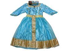 NEW Girl Disney Pixar Brave Merida Royal Dress Up Halloween Costume Size 4/6X