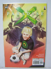 Marvel Paradise X  number 5  Resealable Comic Bag and Board