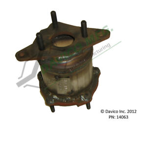 Catalytic Converter-Exact-Fit Front Davico Exc CA 14063