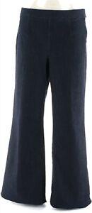 GILI Wide Leg Denim Jeans Dark Rinse 4 # A273908