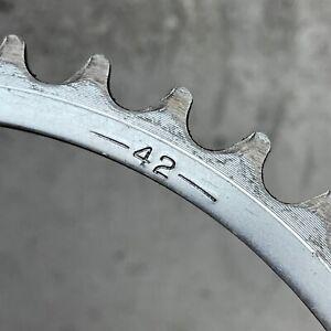Vintage Chain Ring 42t Sprocket 42 144 BCD Road Track Bike Eroica